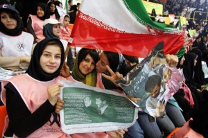 IRAN-VOTE-AHMADINEJAD