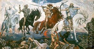 The-Four-Horsemen-Of-The-Apocalypse,-1887
