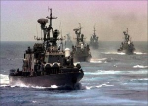 free Israeli-gunboats